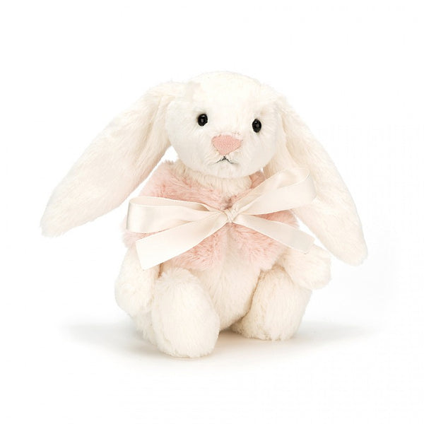 Jellycat Bashful Cream Snow Bunny Small