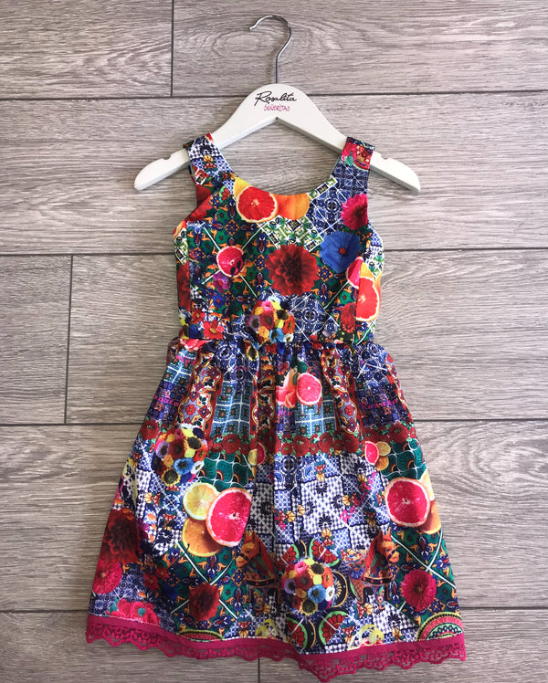 SS18 Rosalita Girls Glasgow Dress