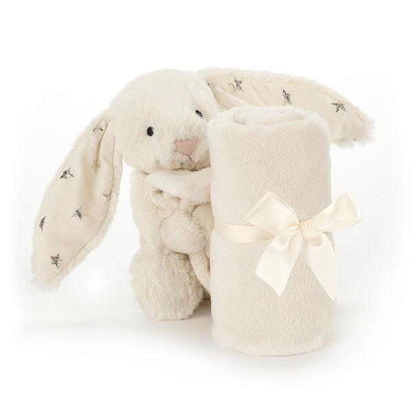 Jellycat Bashful Twinkle Bunny Soother
