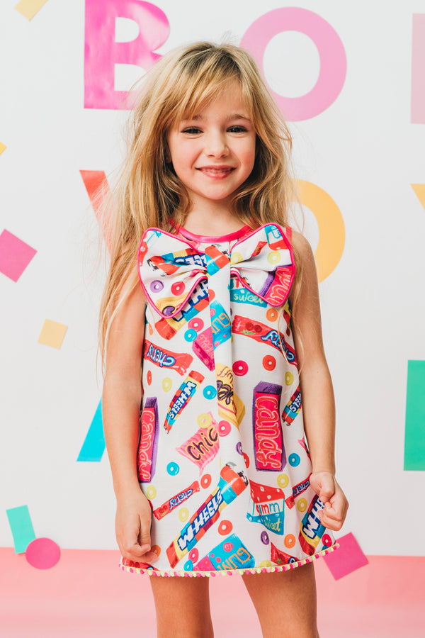 SS20 Rosalita Girls Belcher Retro Sweets Dress