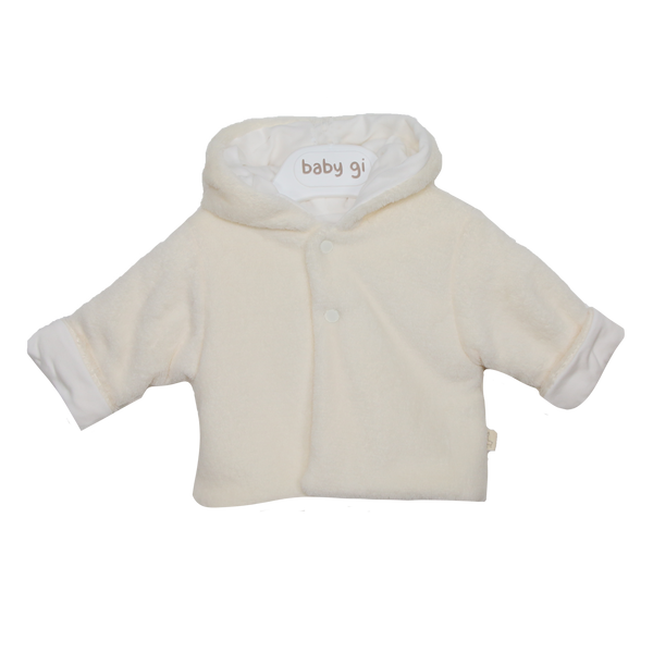 AW20 Baby Gi Cream Hooded Jacket