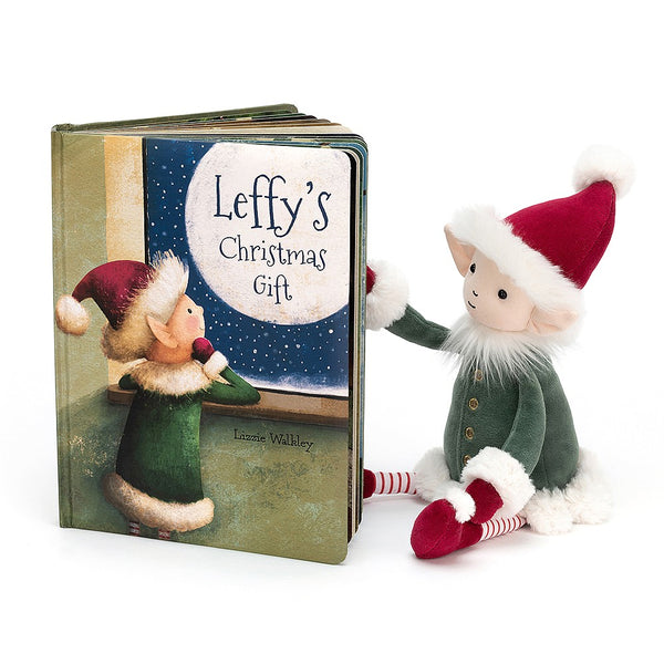Jellycat Leffy Elf Christmas Gift Set