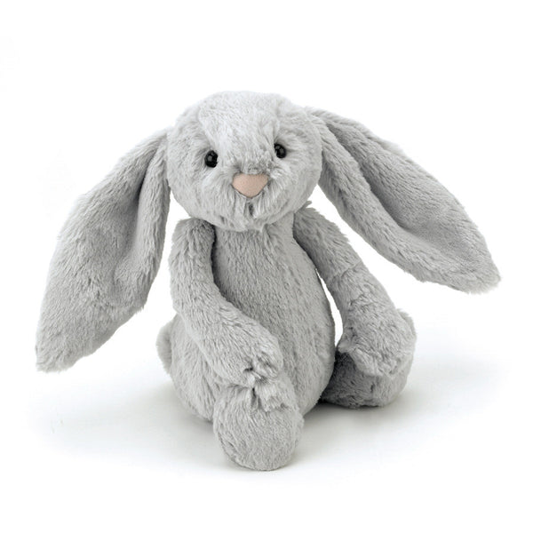 Jellycat Bashful Silver Bunny Medium - Liquorice Kids