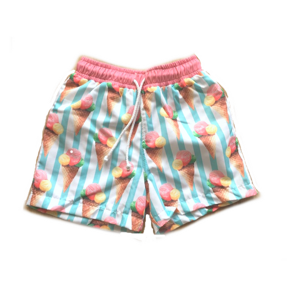 SS19 Meia Pata  Boys Ice Cream Swim Shorts