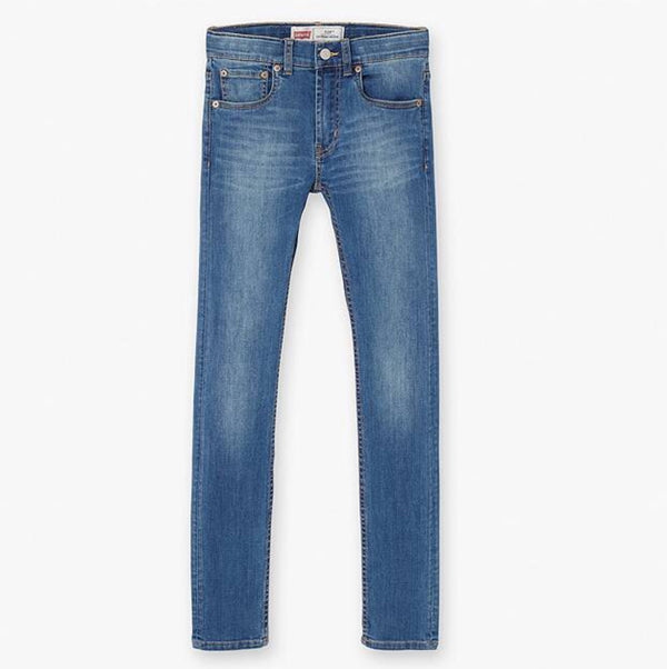 AW18 Levi's Boys 519 Light Blue Extreme Skinny Jeans