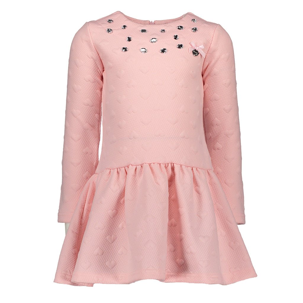 AW18 Le Chic Girls Love Heart Dress
