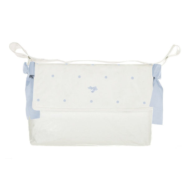 Uzturre Cream & Blue Spots Changing Bag