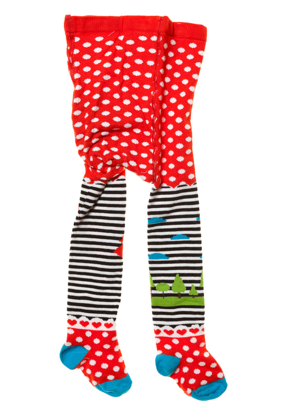 AW18 Rosalita Girls Curavacas Spots & Stripes Tights