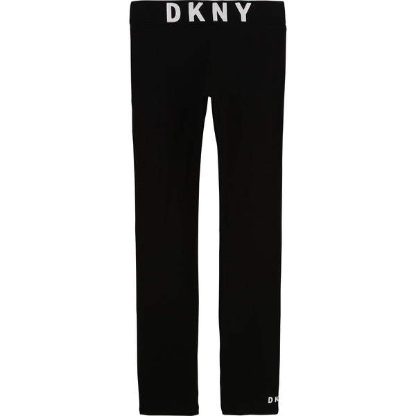 SS21 DKNY Girls Black Leggings