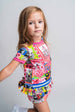 SS21 Rosalita Girls Dixmont Pink Floral Dress