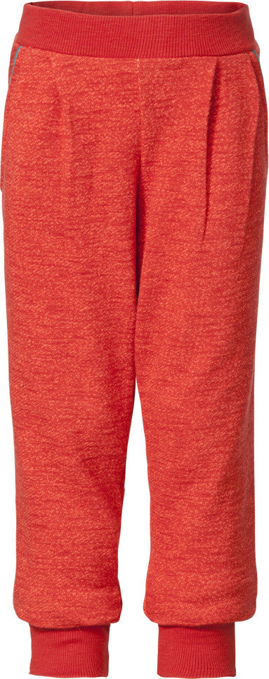 AW16 Room Seven Girls Hibou Heavy Jersey Pants 20 Red Melange - Liquorice Kids