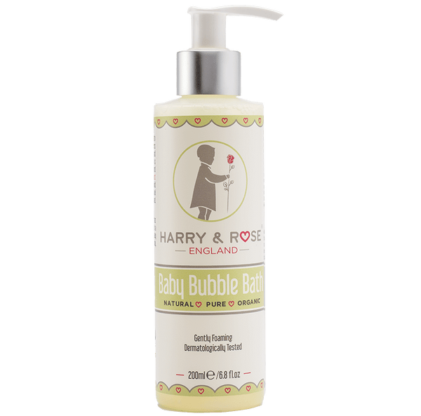 Harry & Rose Organic Baby Bubble Bath - Liquorice Kids