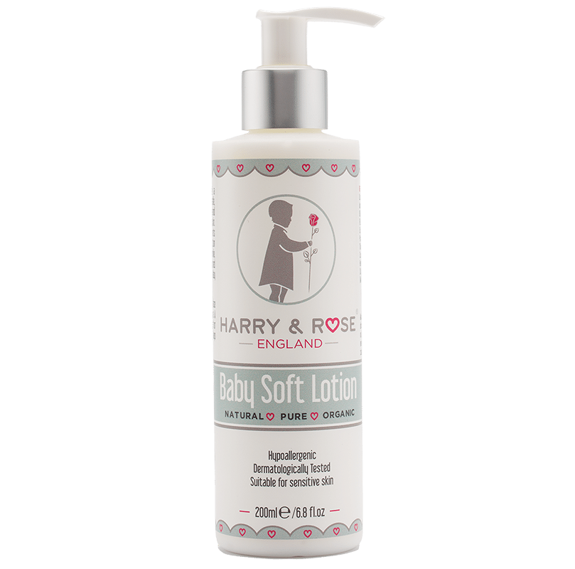 Harry & Rose Organic Baby Soft Lotion - Liquorice Kids