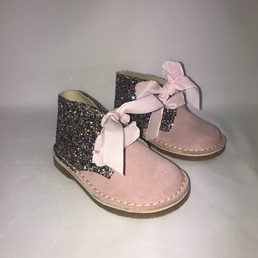 AW19 Rochy Pink Glitter Boots