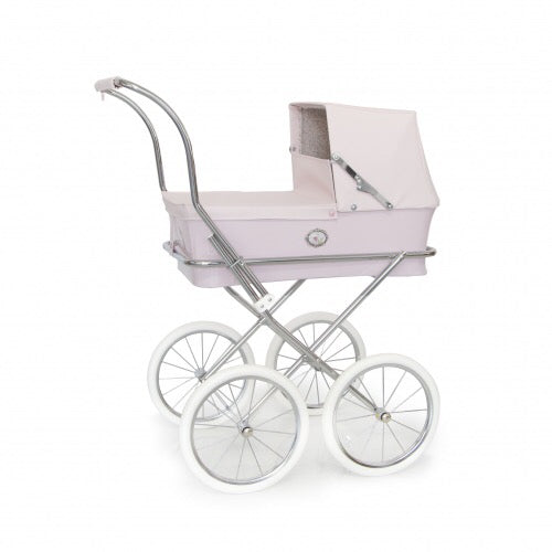 Spanish 'Sweet' Doll's Pram In Pale Pink