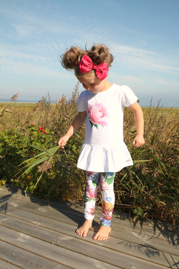 SS21 Happy Calegi Girls Olivia Flower Leggings Set