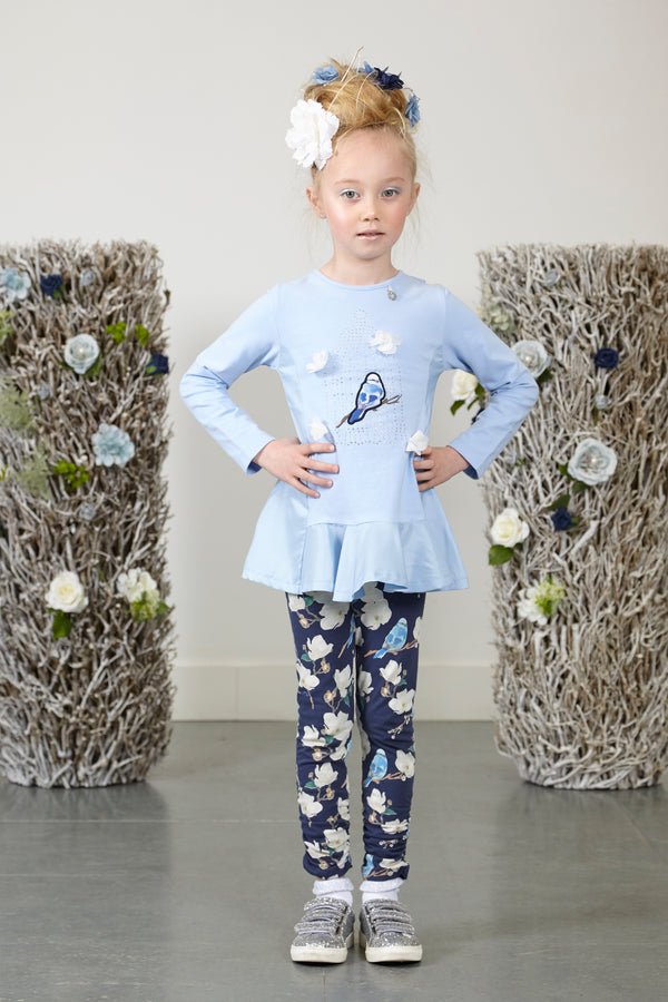 AW18 A*Dee Girls Neve Bluebird Leggings Set