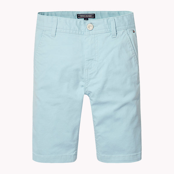 SS18 Tommy Hilfiger Boys Turquoise Chino Shorts