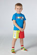 SS21 Mitch & Son Boys Cochrane Colour Block Swim Short