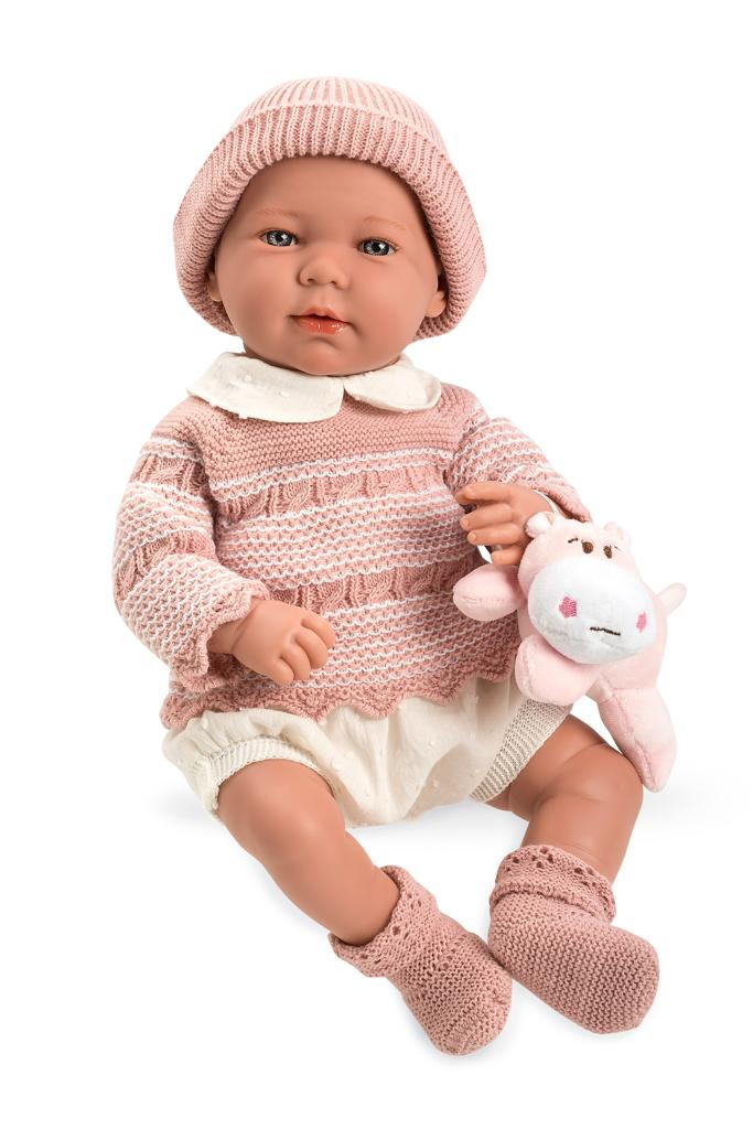Arias Baby Girls Spanish Doll With Toy