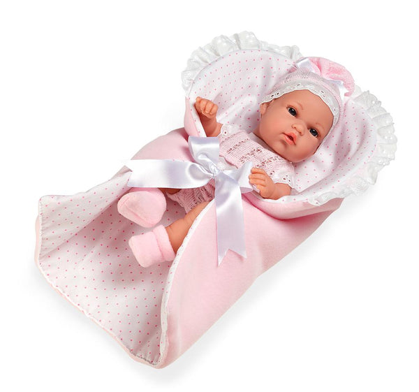 Arias Baby Girls Spanish Doll With Nest