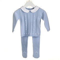 AW18 Zip Zap Baby Boys Knitted Two-Piece Set PP0183