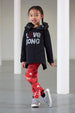 AW18 A*Dee Girls Nancy Love Songs Leggings Set