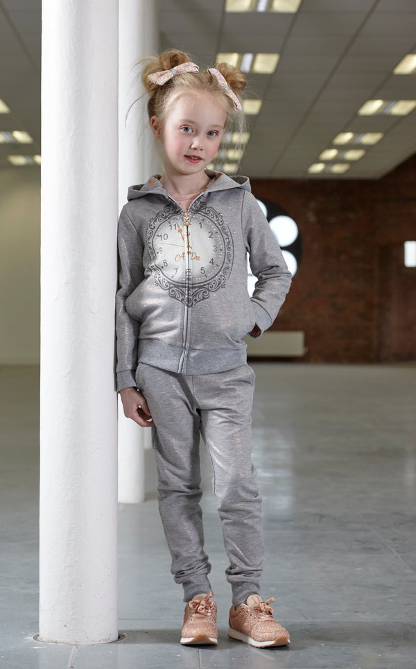 AW18 A*Dee Girls Nessa Once Upon A Time Clock Tracksuit