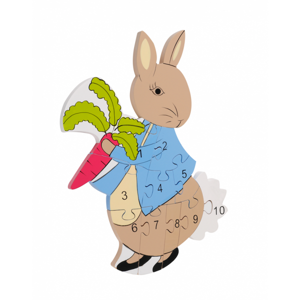 Orange Tree Peter Rabbit Number Puzzle