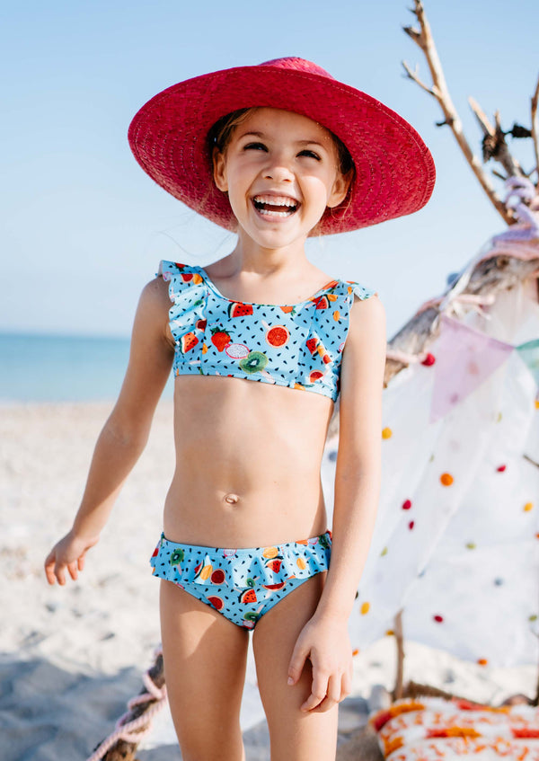 SS21 Rosalita Girls Hay Summer Fruits Bikini