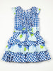 SS18 A*Dee Girls Dorah Blue Check Dress