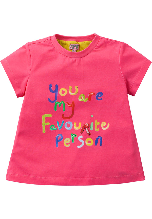SS19 Room Seven Girls Taliz T-Shirt 36 You Are My Favourite Person