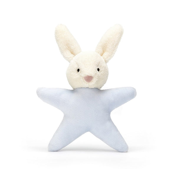 Jellycat Star Bunny Blue Rattle