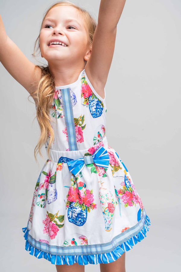SS21 Rosalita Girls Sherman Floral Skirt Set