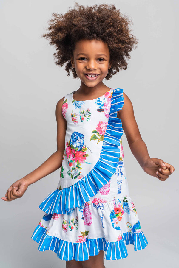 PRE-ORDER SS21 Rosalita Girls Sherman Floral Dress