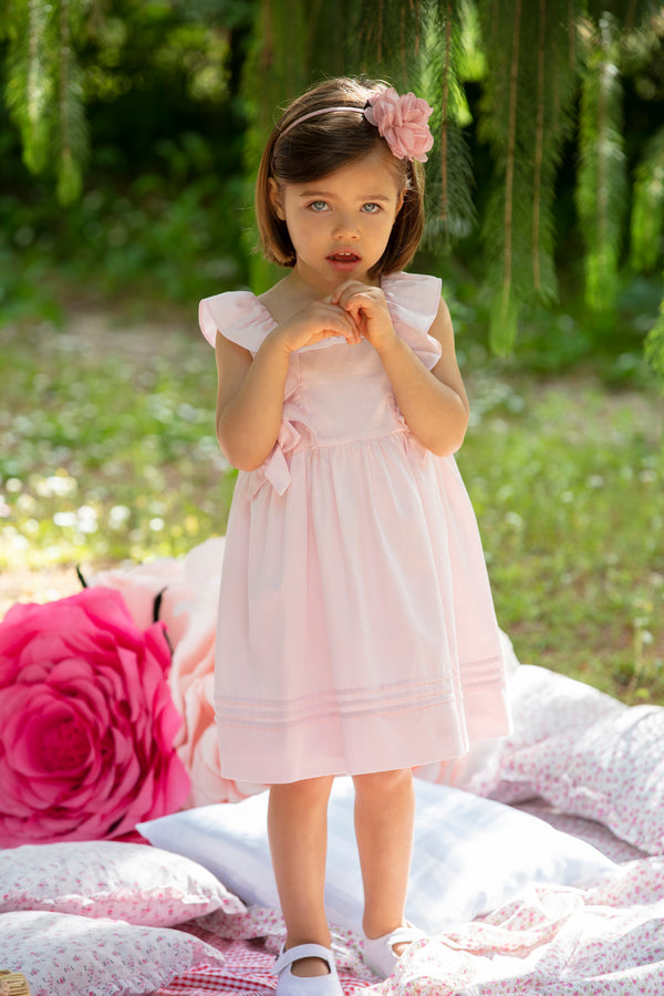 SS20 Patachou Girls Pink Bows Dress