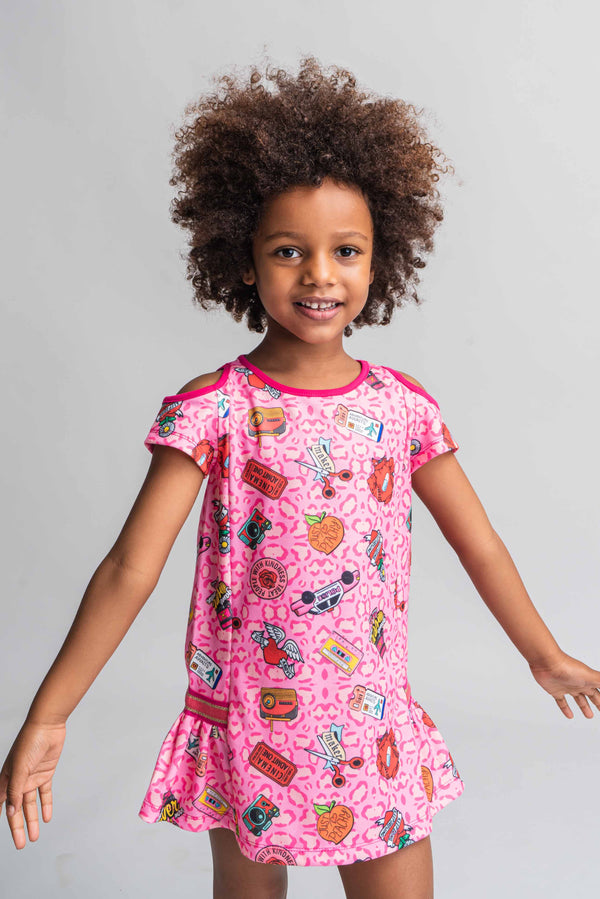 SS21 Rosalita Girls Standish Pink Dress