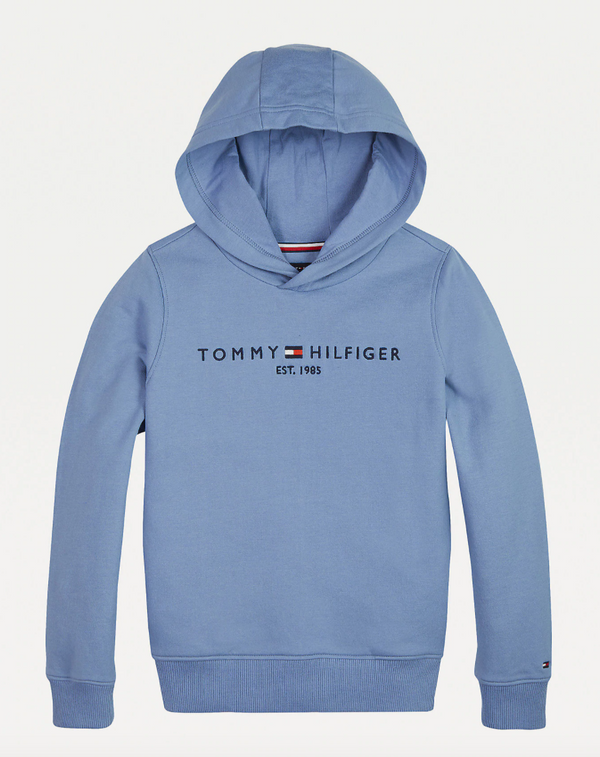 AW20 Tommy Hilfiger Boys Organic Cotton Vintage Blue Tracksuit