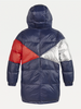 AW20 Tommy Hilfiger Girls Iconic Reversible Hooded Puffer Parka Coat