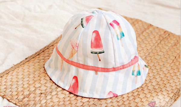 PRE-ORDER SS21 Meia Pata Girls Ice Cream Sun Hat