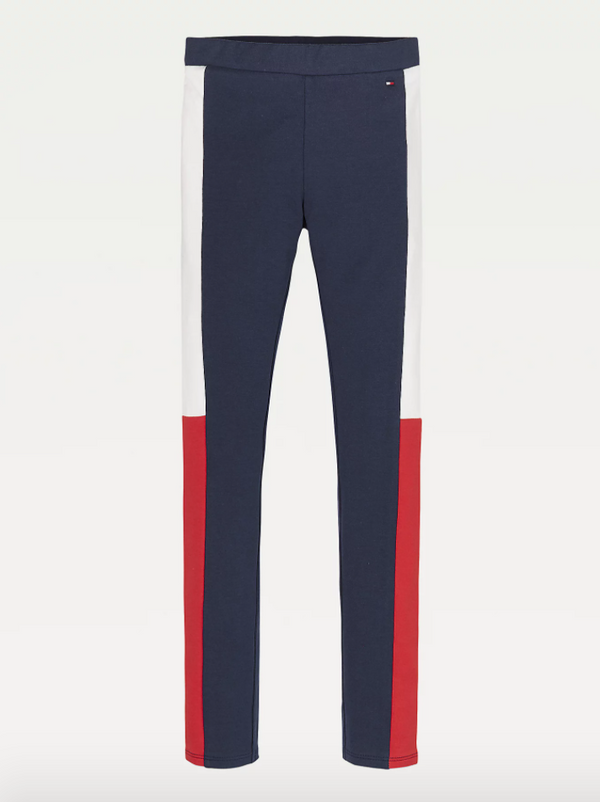 SS21 Tommy Hilfiger Girls Colour Block Leggings