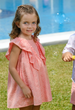 SS21 Tutto Piccolo Girls Coral Dress 1246
