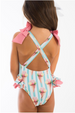 SS19 Girls Santorini Ice Cream Swimming Costume