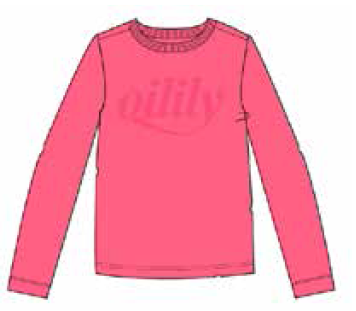 AW20 Oilily Girls Tolsy Pink T-Shirt 30