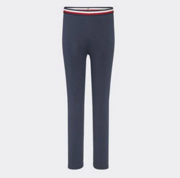 SS21 Tommy Hilfiger Girls Navy Blue Leggings