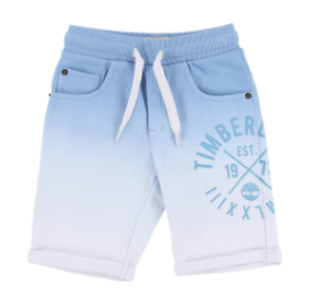 SS18 Timberland Boys Pale Blue Jersey Shorts