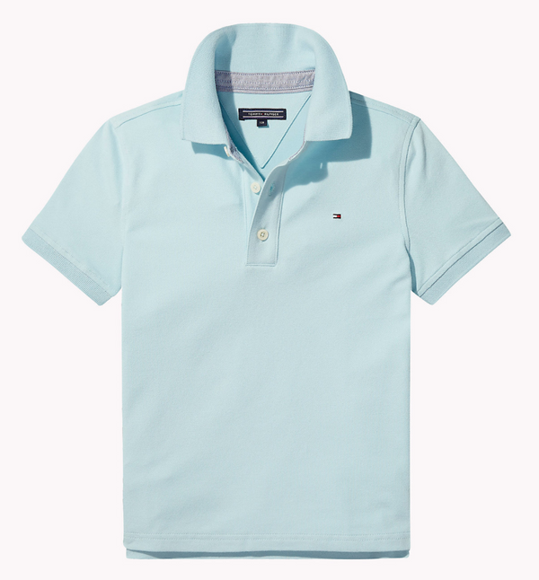 SS18 Tommy Hilfiger Boys Turquoise Polo Top