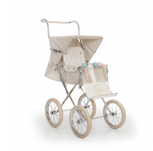 BebeLux Spanish Paris Beige Doll's Pushchair