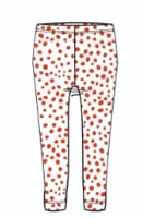 SS19 Oilily Girls Tiska Leggings 01 Red Dots
