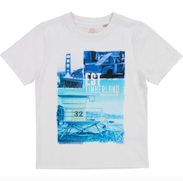 SS19 Timberland Boys San Francisco T-Shirt